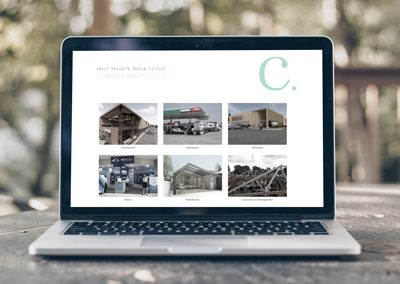 Curious Architects – Website